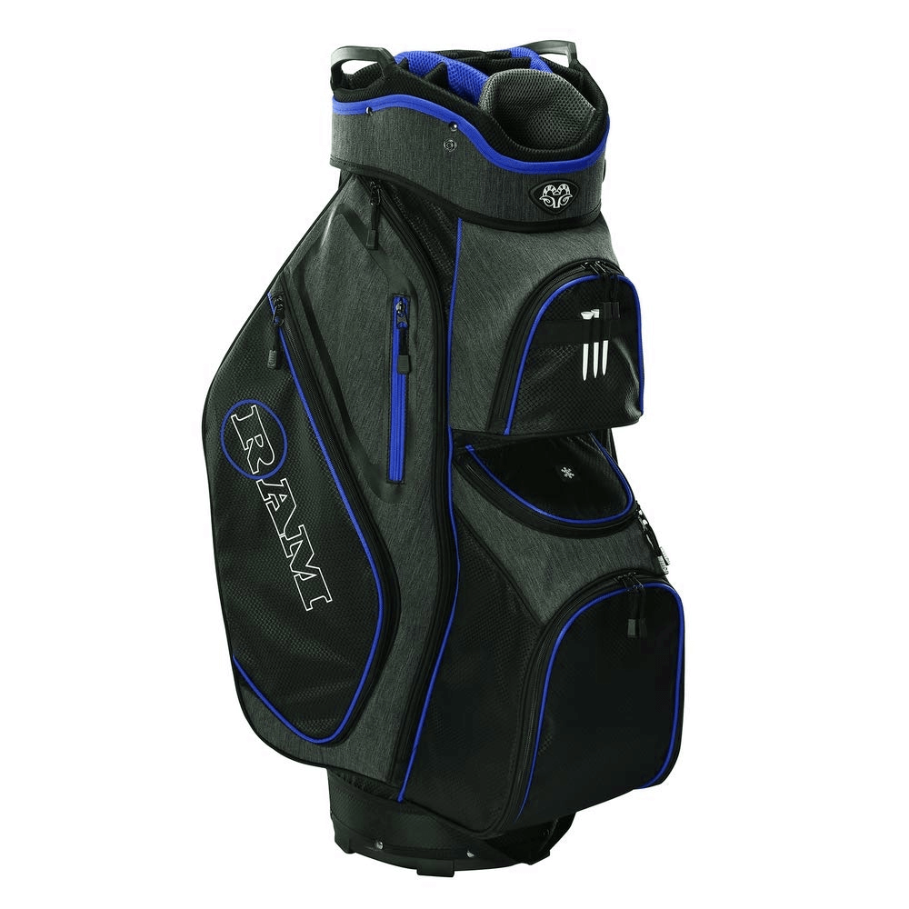thumbnail 9 - Ram Golf Tour Trolley Bag with 14 Way Dividers Top