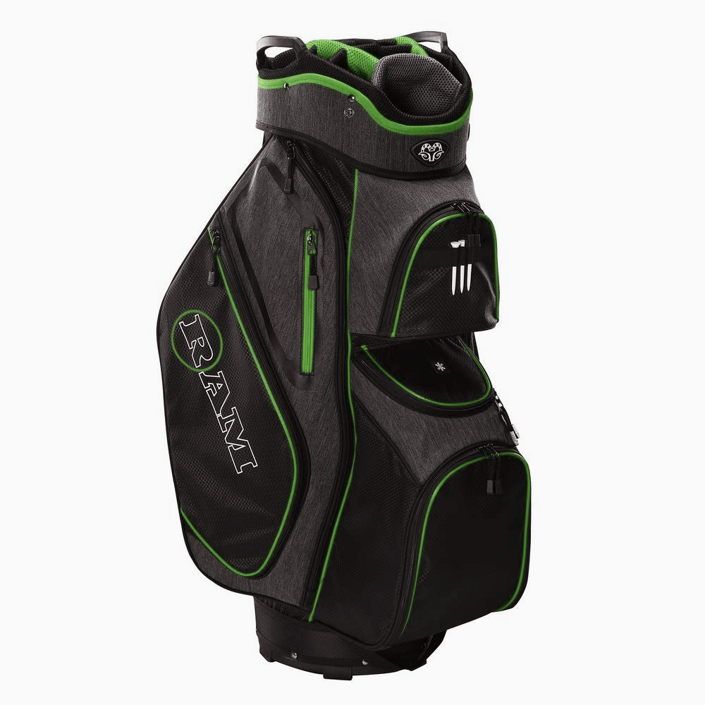 thumbnail 11 - Ram Golf Tour Trolley Bag with 14 Way Dividers Top