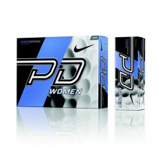12 Nike Power Distance 9 Ladies Golf Balls - White
