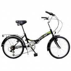 Ex-Demo Stowabike Folding City V2 Compact Bike Black / Green