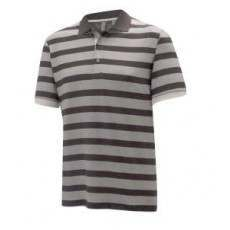 Ashworth Melange Shadow Stripe Jersey Polo