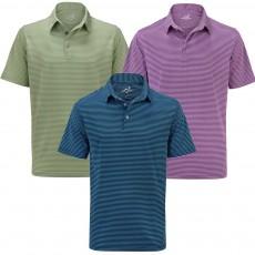 Woodworm Golf Feeder Stripe Polo Shirt 3 Pack - Mens
