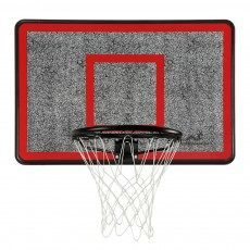 Woodworm Outdoor Wall Mounted Basketball Hoop, Backboard and Net Set