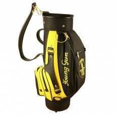 Young Gun Junior Golf Carry Bag - Black/Yellow