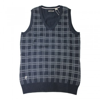 Ashworth Ladies Crossed V Neck Vest