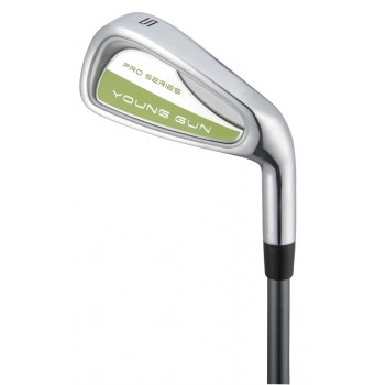 Young Gun Pro Series Irons Green Age 12-14