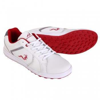 Woodworm Surge V2.0 Golf Shoes - White / Red