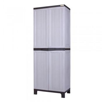 Palm Springs Garden Plastic Lockable Cabinet 170cm