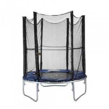 Woodworm 6FT Trampoline - Safety Net / Ladder / Cover