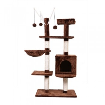 Confidence Pet Executive Cat Tree - Brown