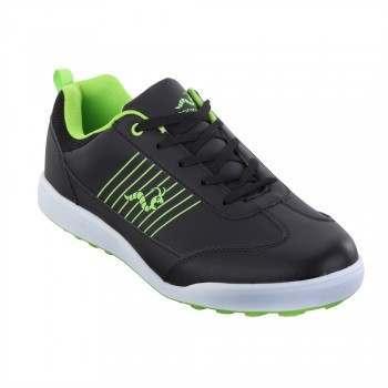 Woodworm Surge Golf Shoes - Black / Neon
