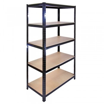 Homegear Heavy Duty 5 Tier Storage Shelving Unit