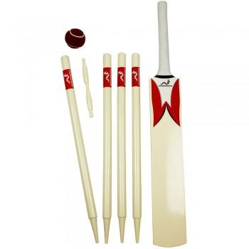 Woodworm Junior Cricket Set - Red Size 4
