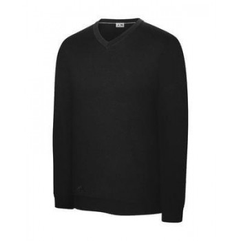 Adidas Mens Perf V-N Sweater Black