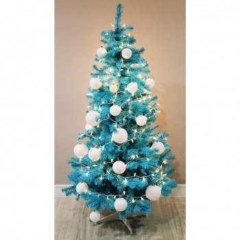 Homegear 6ft Blue Artificial Christmas Tree
