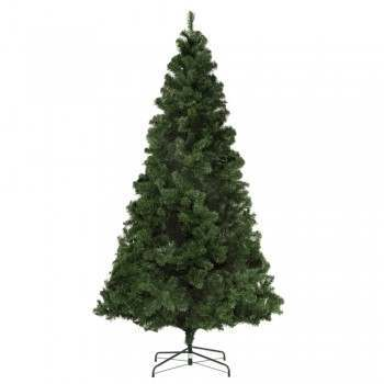 Homegear Deluxe 7.5ft Artificial Christmas Tree with Metal Stand