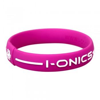 I-ONICS Power Sport Magnetic Band V2.0 PINK/WHITE