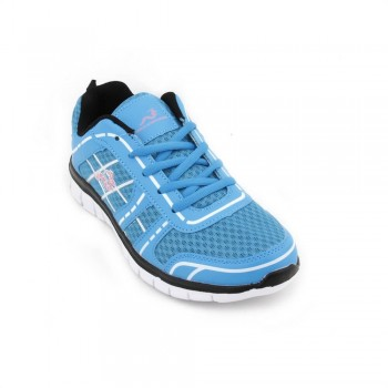 Woodworm FWS Ladies Running Shoes / Trainers Blue