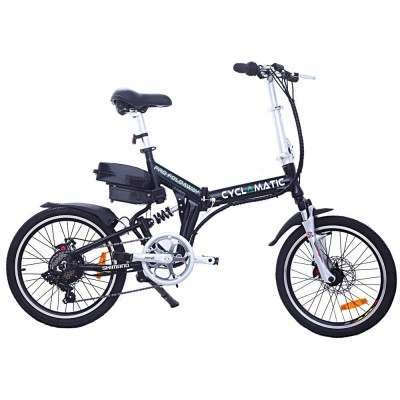 Cyclamatic CX4 Pro Folding Electric Bike-Black