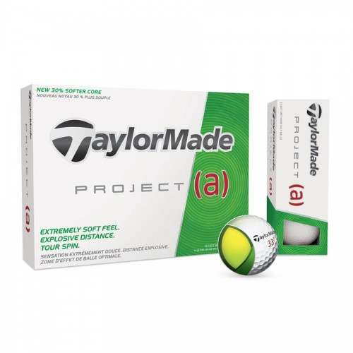 12 TaylorMade Project (A) Golf Balls