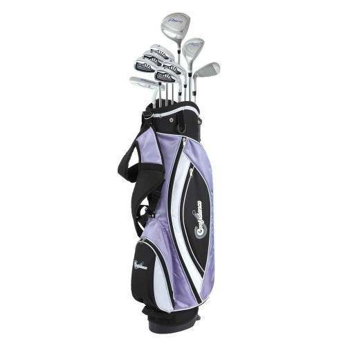 Confidence Golf Lady Power V3 Club Set & Stand Bag