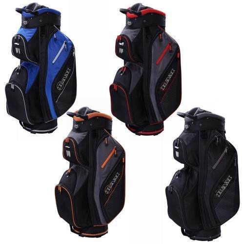Ram Golf Lightweight Trolley Bag with 14 Way Full Length Dividers