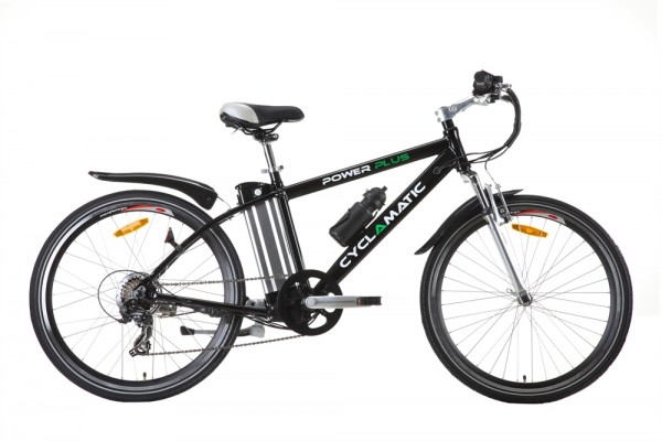 Ex Demo Cyclamatic Power Plus Electric Bike Black