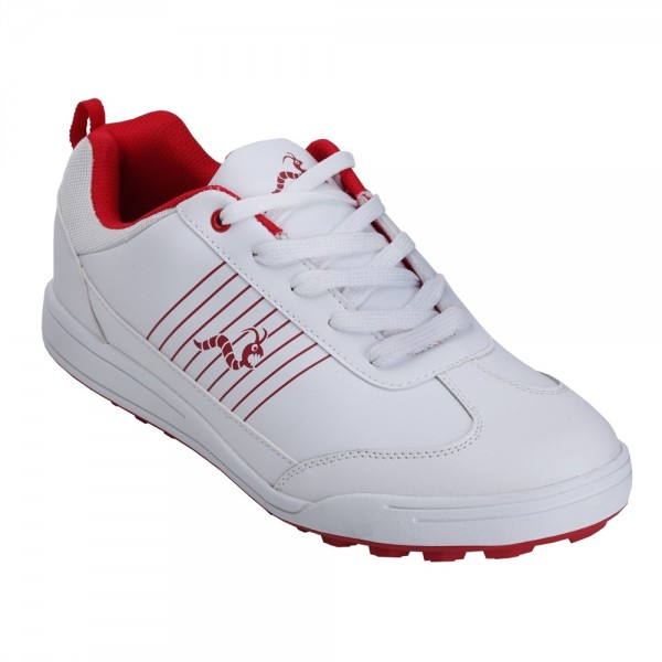 a9073913dfe260 Woodworm Surge Golf Shoes - White   Red - Golf Shoes - Golf - The Sports HQ