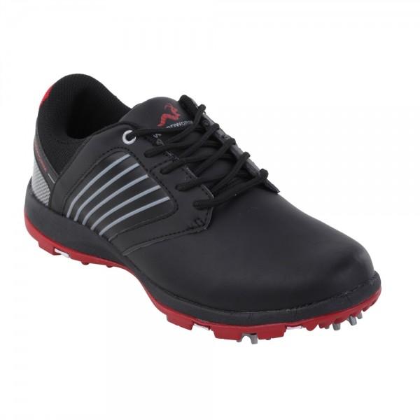 77b3818246d5d0 Woodworm Player 2.0 Golf Shoes - Black - The Sports HQ