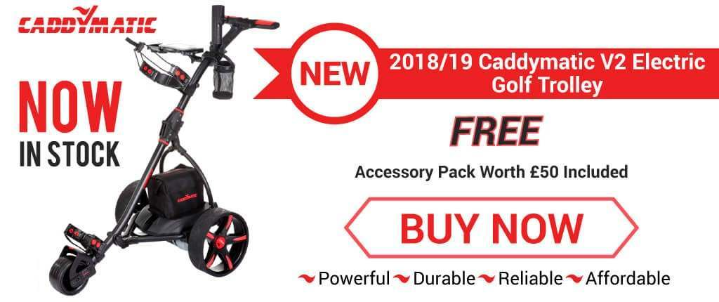 New Caddymatic Electric Golf Trolley Now In Stock