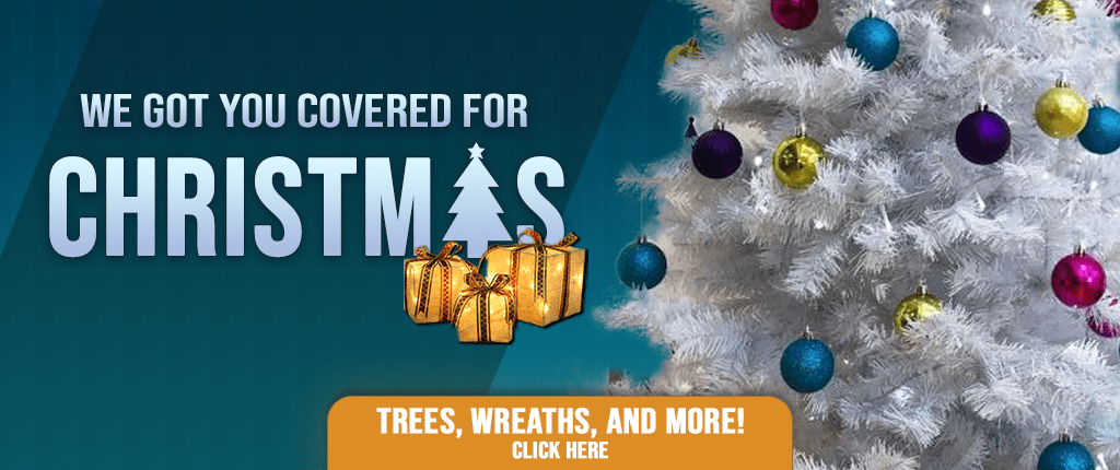 Christmas Trees, Wreathes and More