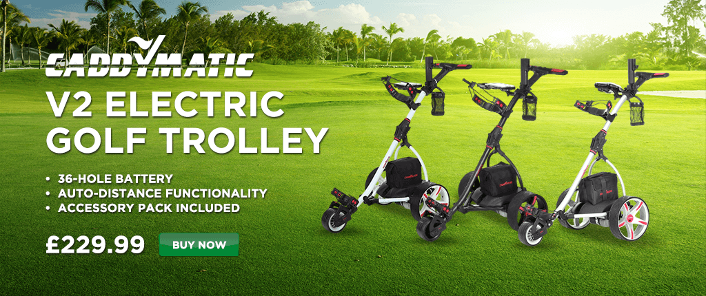 Caddymatic Electric Golf Trolleys