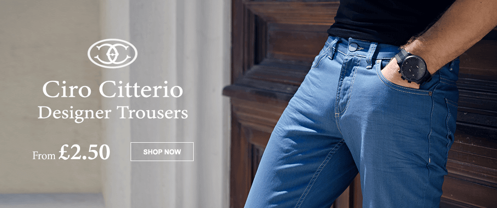 Ciro Citterio Jeans and Chinos from £2.50