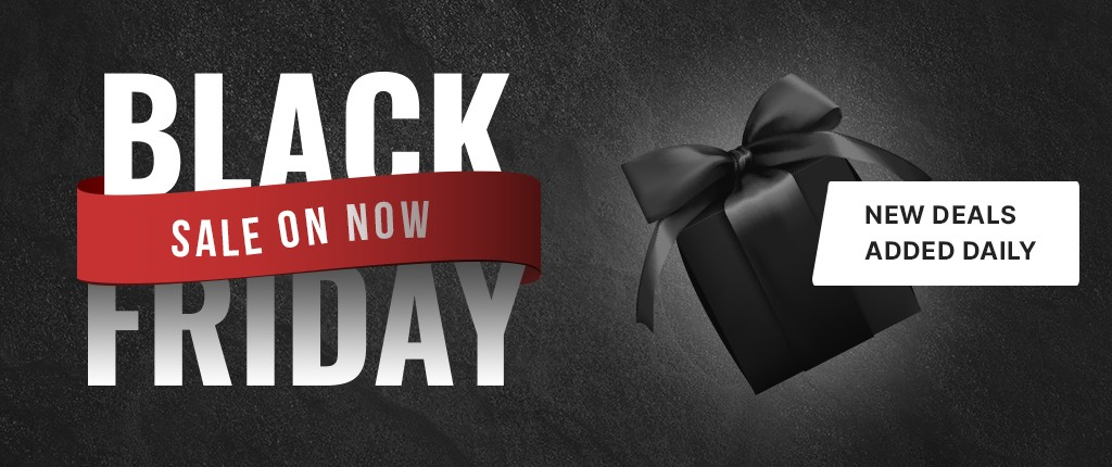 Black Friday Weekend - New Deals Added Daily