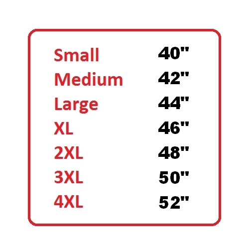 Size Chart - Woodworm Golf Ultimate Heather Golf Polo Shirt 3 Pack